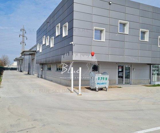 Zona Industriala, eurohala 600 mp. + birouri 326 mp., platforma - imaginea 1