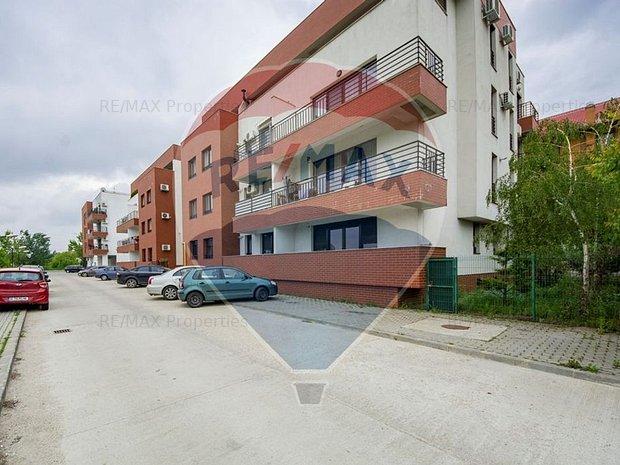 Apartament 3 camere in bloc nou cu gradina proprie zona Sisesti Straulesti - imaginea 1