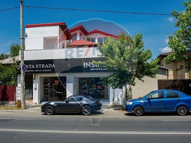 Spatiu comercial si birouri in vila zona Jiului Bucuresti Noi - imaginea 1