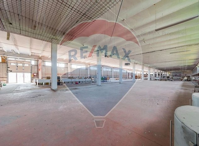 Hala 1000 mp ideal showroom , depozitare, productie zona DN1 - imaginea 1