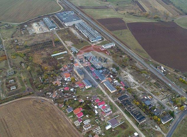 Vanzare parc industrial  investitie zona Orastie - imaginea 1