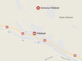 Licitaţie teren constructii, în Vladesti