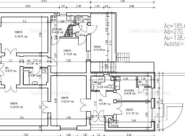 Casa / Vila cu 4 camere de vanzare in zona Andrei Muresanu - imaginea 1