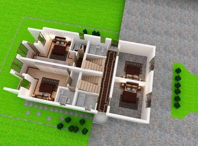 Casa duplex cu 4 camere de vanzare in zona Manastur - imaginea 1