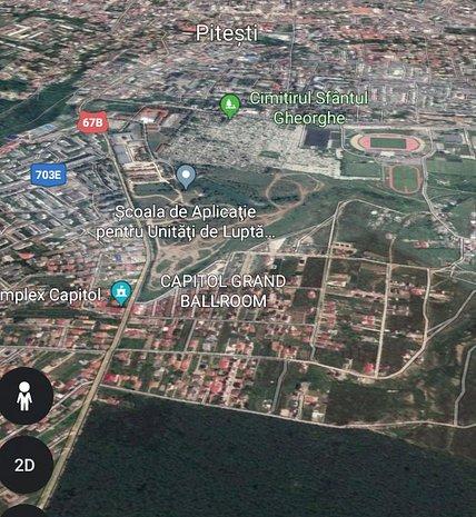Teren 1.7 hectare cartier Trivale Tancodrom front stradal 111 ml - imaginea 1