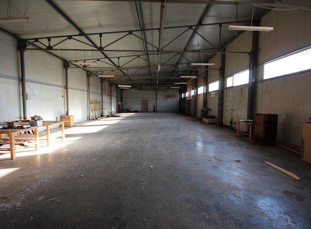 Teren cu spatiu industrial de vanzare - imaginea 1
