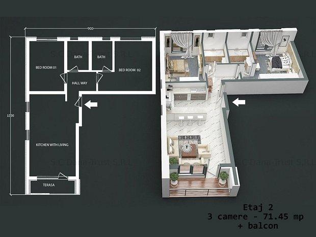 Residensi VOGUE - Dumbravita - Premium apartaments - imaginea 2