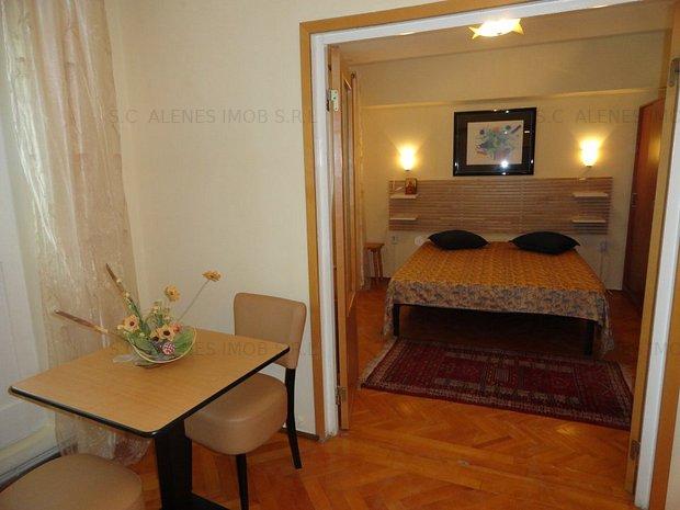 Apartament ultracentral 2 camere vedere la Dunare mobilat lux ,recent zugravit - imaginea 1