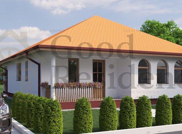 Good Residence | Moara Vlasiei | Casa Noua Unicat | Arhitectura Neo-Romaneasca - imaginea 1