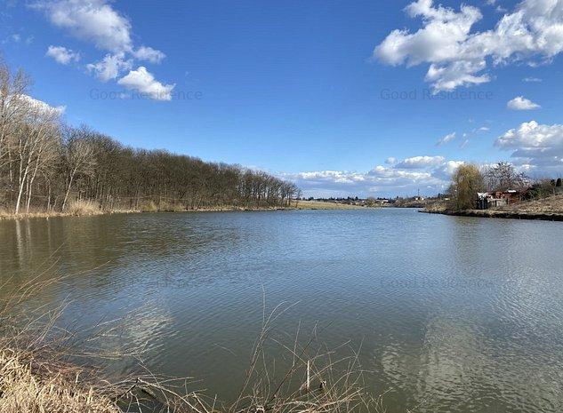Teren la 200 m de Lac si Padure, A3 la 3 minute, in Moara Vlasiei - imaginea 1