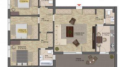 Apartament de vânzare 4 camere, în Bucuresti, zona Baneasa