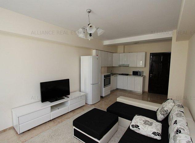 Copou-Exclusive Rezidence, apartament cu 2 camere, mobilat si utilat modern - imaginea 1