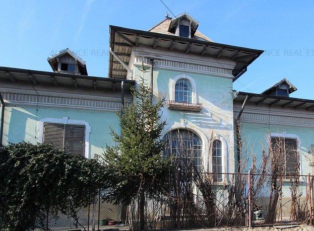 Copou-str. sararie, casa constructie interbelica, la bulevard - imaginea 1