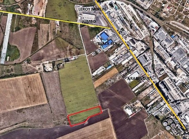 Teren situat in zona METRO - ARABESQUE, - imaginea 1