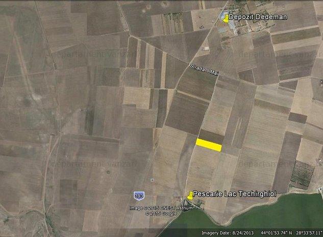 Techirghiol-zona Lac-4 loturi de teren 500mp. PLATA IN RATE - imaginea 1