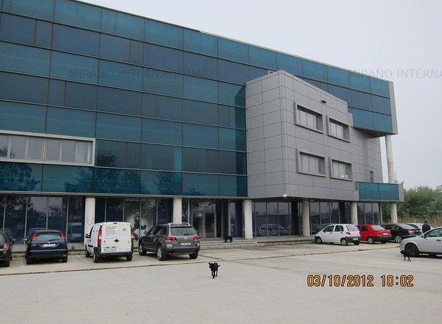 Birou stradal, zona Domnesti /autostrada A1 - imaginea 1