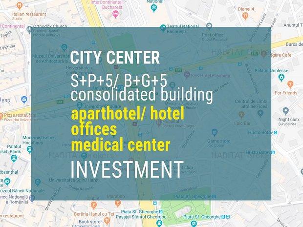 Hotel/ clinica/ birouri - Imobil consolidat, reabilitat, in curs de finisare - imaginea 1