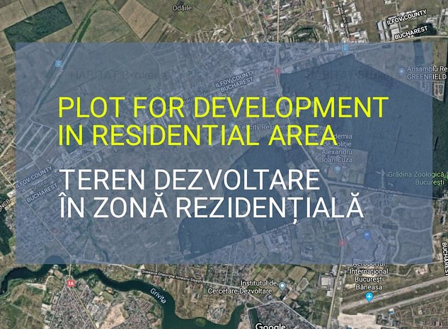 Oportunitate pentru proiect imobiliar in zona deja dezvoltata - Baneasa - imaginea 1