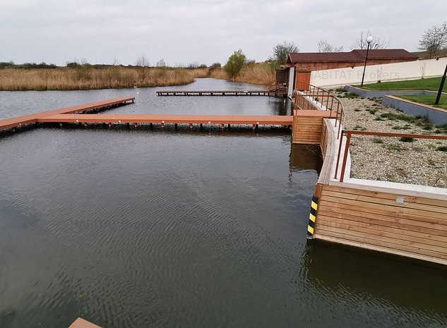 PROMO Teren cu acces la lac - Complex Delta Snagov - lacul Snagov - imaginea 1