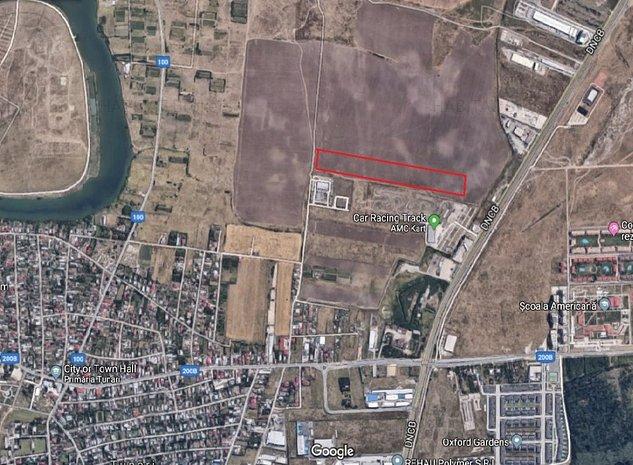 Spatiu industrial/ depozitare  4.000 mp - Tunari - imaginea 1