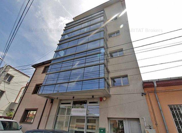 Investitie | Cladire birouri inchiriata complet, zona Basarab - Titulescu - imaginea 1