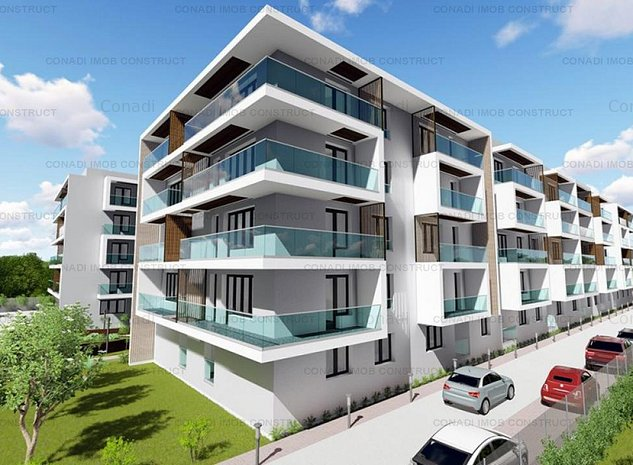 Apartament 2 camere In Otopeni Drumul Odaii - Amethist cu 1 loc de parcare - imaginea 1