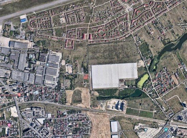 Teren 1900 mp, Aviatiei - Drumul Nisipoasa, POT 60%, CUT 2.2 - imaginea 1