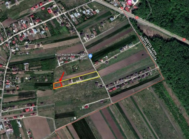Teren pretabil constructie casa sau vila in Gulia Tartasesti - imaginea 1