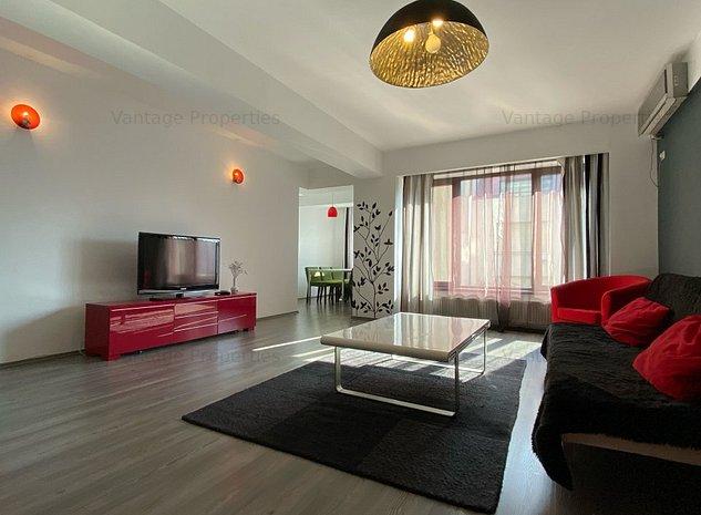 Apartament 3 camere, mobilat si utilat, zona Dorobanti - imaginea 1