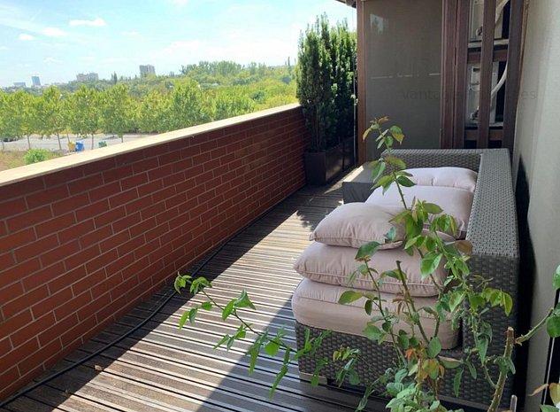 Apartament de lux, 3 camere, tip penthouse, zona Baneasa - imaginea 1