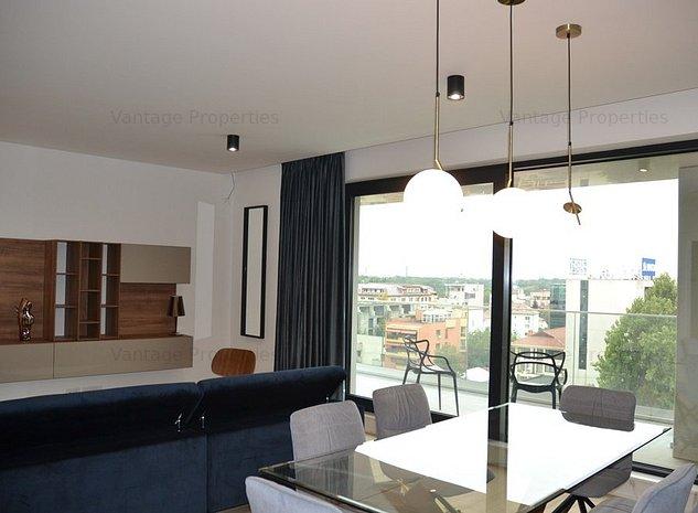 Apartament 4 camere, de lux, mobilat, terasa, zona Nordului - imaginea 1