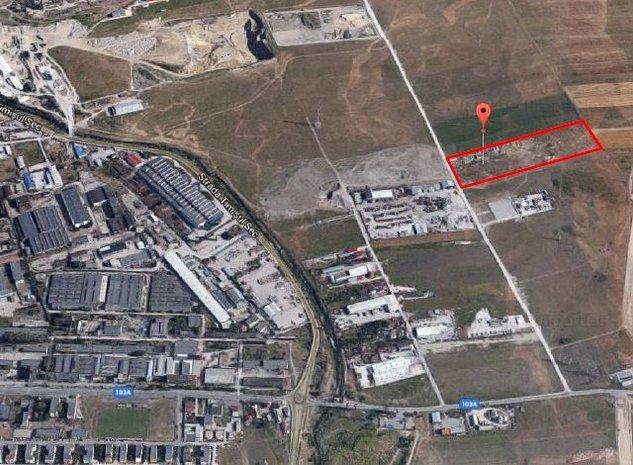 Teren extravilan  situat in zona industriala de est a Municipiului Brasov - imaginea 1
