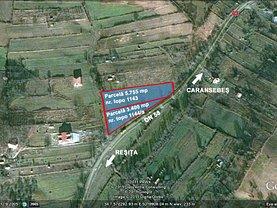 Vânzare teren investiţii în Resita, Calea Caransebesului