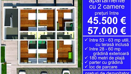 Apartamente Mamaia-Sat,