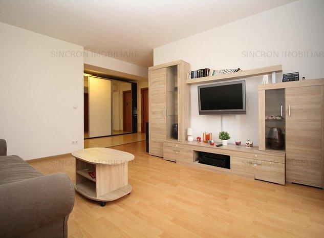Închiriere apartament cu 2 camere Confort City, parcare inclusă - imaginea 1
