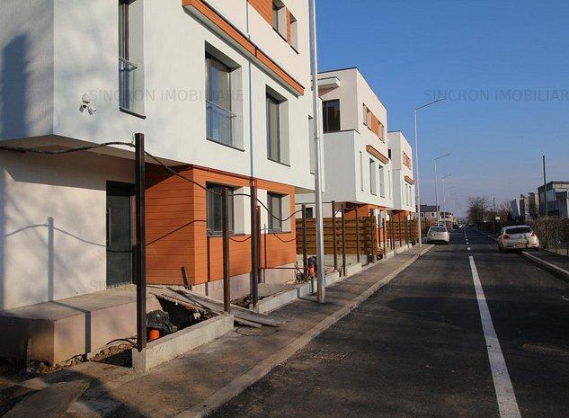 Vilă nouă tip duplex P + 2 (etaj întreg) finalizată, vis-a-vis de pădure - imaginea 1