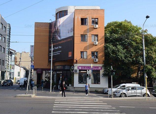 Hotel de vânzare, 17 camere, Piața Buzești - Occidentului - imaginea 1