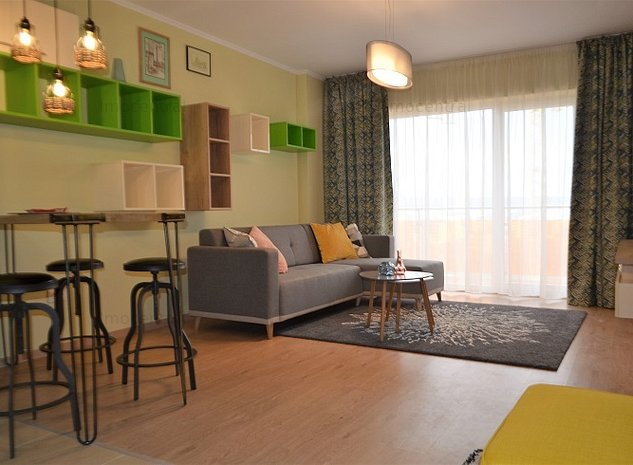 Apartament ultramodern, cu amenajare deosebita, in Viva City - imaginea 1