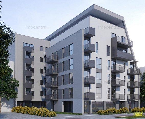 Apartament cu 2 camere, de vanzare, in Dambul Rotund - imaginea 1