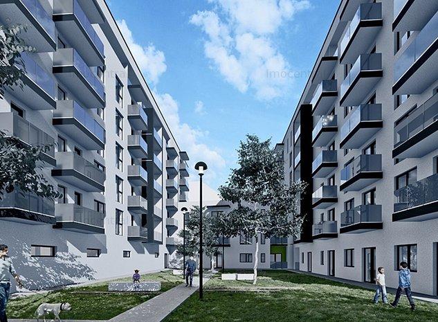 Vanzare apartament cu 2 camere in complex rezidential nou - imaginea 1