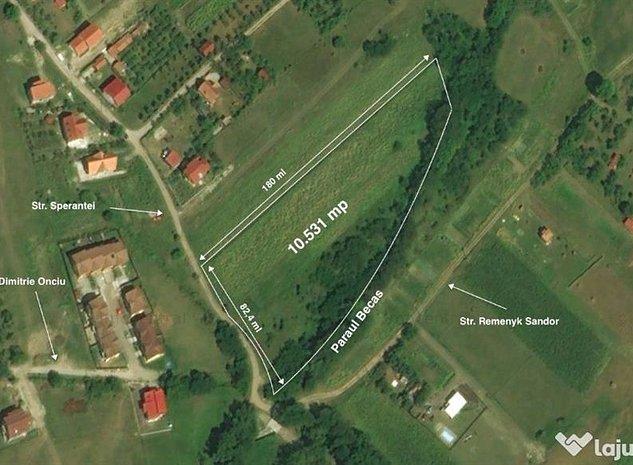 10500 mp in zona de case, Becas, Cluj Napoca - imaginea 1