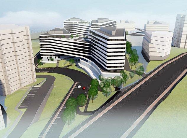 Proiect Imobiliar, Blocuri locuinte, 1/3S+1/2D+P+7+R+Th - imaginea 1