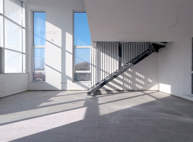 Inchiriere spatiu finisat birouri + terasa 40mp strada Iris - imaginea 1