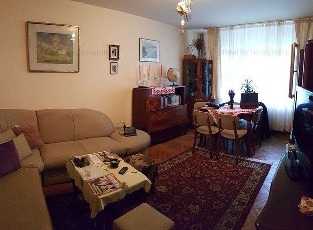 3 camere, decomandat, zona strazii Bucuresti, Marasti - imaginea 1