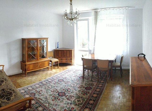 Apartament cu 3 camere, etaj 2/4, zona Piata Hermes - imaginea 1