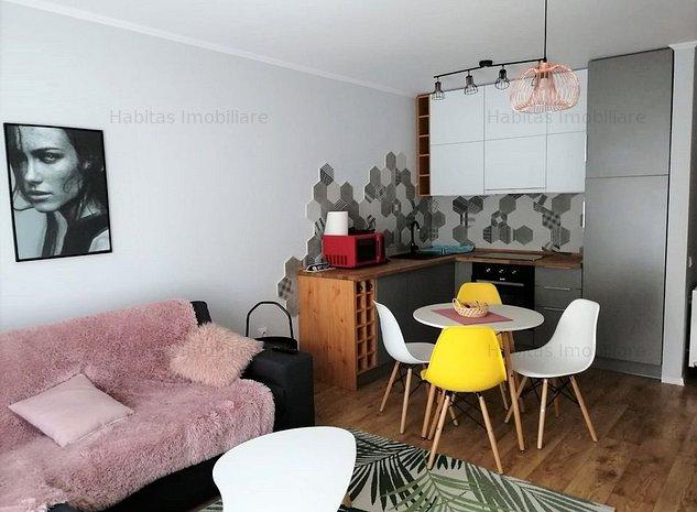 Apartament cu 2 camere ultrafinisat in Gheorgheni, zona Iulius Mall - imaginea 1