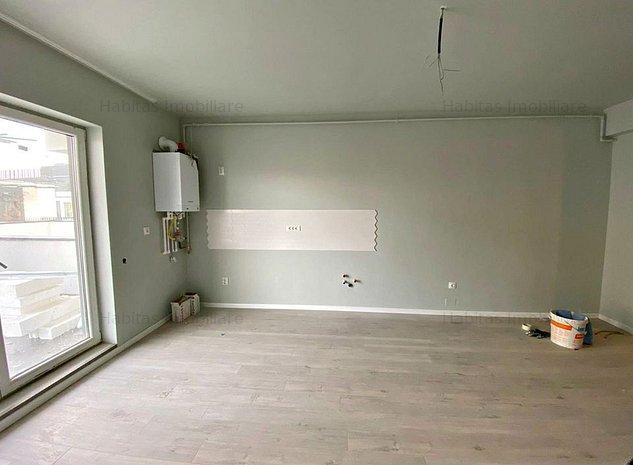Apartament, 2 camere, finisat, terasa 23 mp, parcare subterana, Centru - imaginea 1