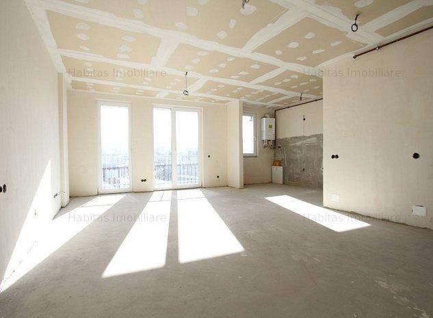 Apartament 1 camera cu CF, 45 mp, semifinisat, Buna Ziua, bloc nou - imaginea 1