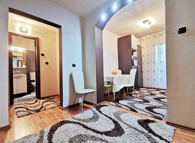Apartament 2 camere, estj intermediar, decomandat, mobilat, Manastru - imaginea 1