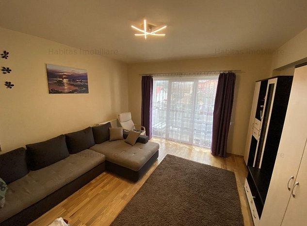 Apartament cu 3 camere, decomandat, bloc nou, garaj, zona Alverna - imaginea 1